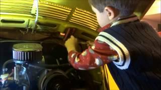 73 VW Beetle Deck lid removal