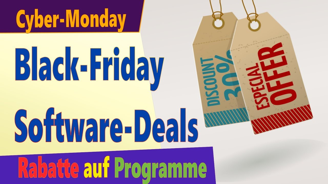 Rabatte Black Friday Software Deals Black Friday 2018 Akutelle Angebote