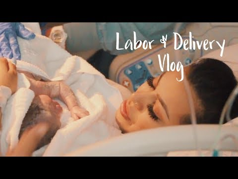 Labor & Delivery Vlog|| REAL & RAW FOOTAGE.
