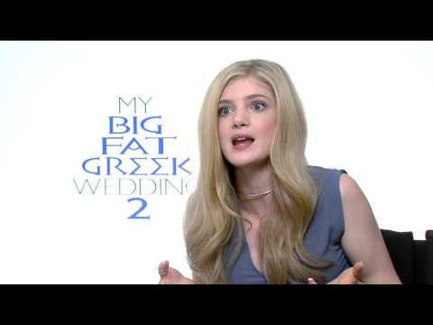 My Big Fat Greek Wedding 2: Elena Kampouris Official Movie Interview