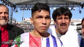 Jorge Lara talks KO finish of Fernando Montiel- Looks to Mares, Santa Cruz fights