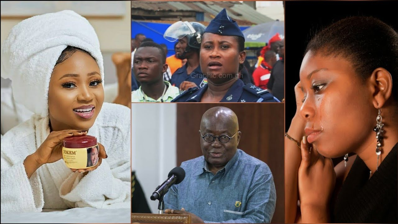 Akuapem Poloo Begs Akuffo Addo & Ghanaians after Police CID..