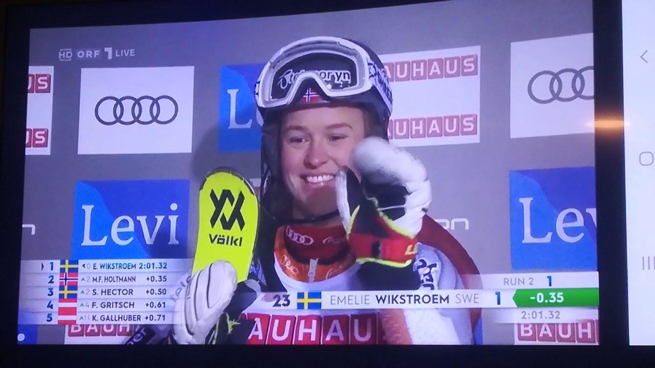 Ski Slalom Damen