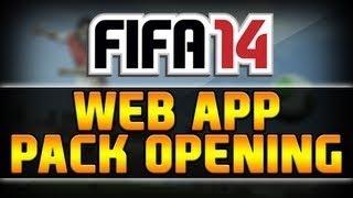 FIFA 14 WEB APP - PACK OPENING - ULTIMATE TEAM [ITA]