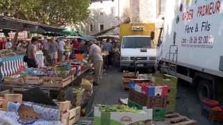 Saint Ambroix markt