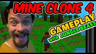 Mine Clone 4 Gameplay With Jungle Beast!