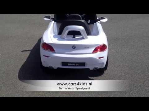 elektrische kinder accu auto bmw z4 youtube. Black Bedroom Furniture Sets. Home Design Ideas