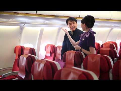 """Where Hong Kong Begins"" - TVC making of: In-flight entertainment|Hong Kong Airlines"