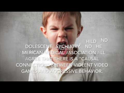 Violent Video Games and Child Aggression PSA