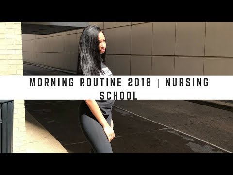 MORNING ROUTINE | NURSING STUDENT EDITION