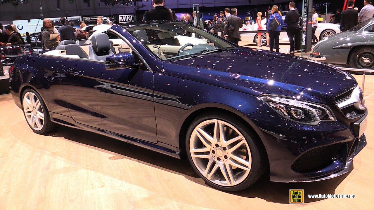 2018 E400 Convertible >> 2015 Mercedes-Benz E-Class E400 Cabriolet - Exterior ...
