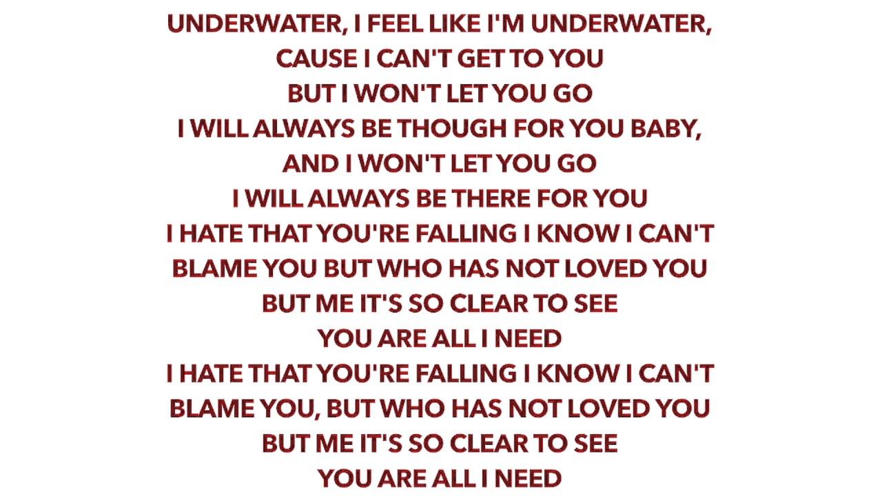 THE NAKED BROTHERS BAND : ALL I NEEDED lyrics