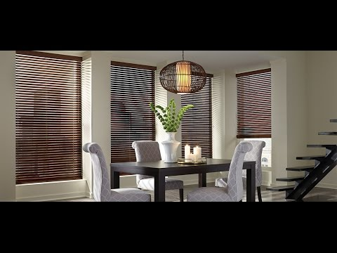 Wide Slat Wooden Blinds with Tapes Designs