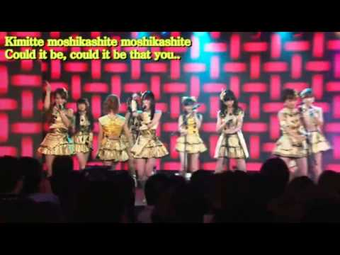 AKB48 Flying Get Eng Sub + Kana