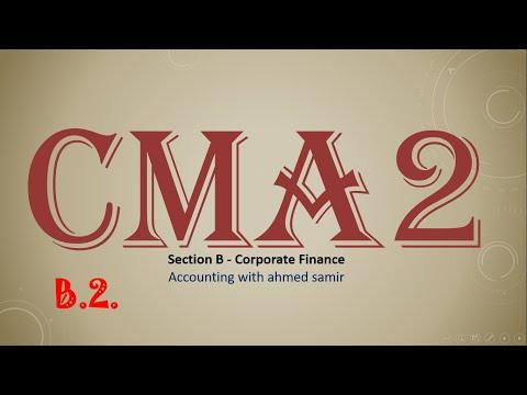 المحاضرة رقم 19 : تكلفة رأس المال (Cost of Capital)