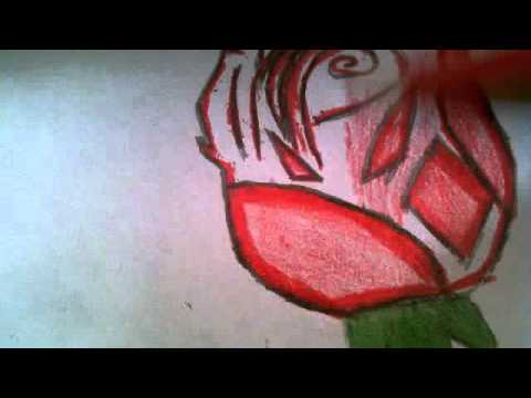 how to draw a perfect rose youtube