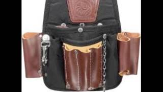 Occidental Leather 9850 Adjust To Fit Fat Lip Tool Bag Set Black