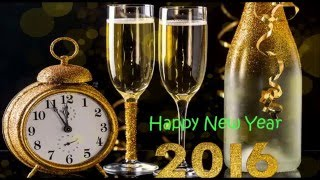 Happy New Year 2016 - Exclusive Wishes/greetings/Whatsapp Video/E-card/Quotes/HD Video