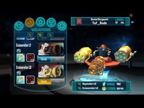 Galaxy Combat Wargames Gameplay: Star Warrior VS Tuf Dude