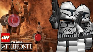 New LEGO Clone Wars Mod! - Star Wars Battlefront 2 (Funny Moments Montage)