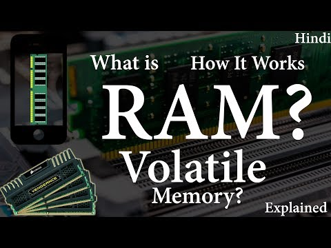 [hindi] What is RAM | What is Volatile memory | How RAM works | Explained.
