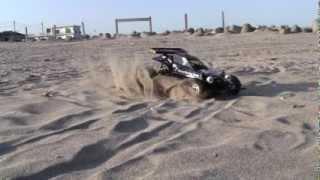 Tamiya Hornet タミヤ ホーネット 海岸・砂浜での撮影です.
