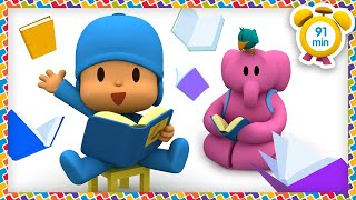 📚  POCOYO in ENGLISH - Story Time Has Come! [91 min] | Full Episodes | VIDEOS and CARTOONS for KIDS