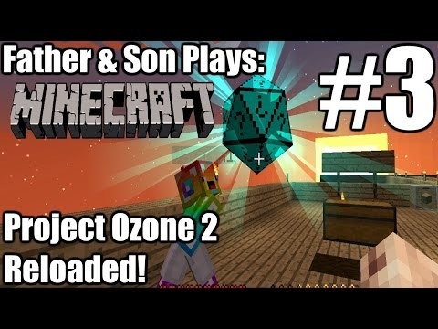 Minecraft Project Ozone 2 Kappa Mode! #3 [Modded HQM Skyblock] by