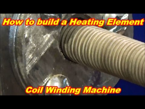 How To Make A Heating Element Coil Winding Machine