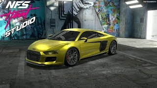 NFS Heat Studio - Audi R8 V10 Performance Coupe Customization