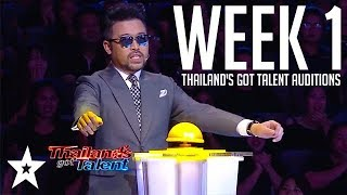 Thailand's Got Talent 2018 | WEEK 1 | Auditions | Got Talent Global