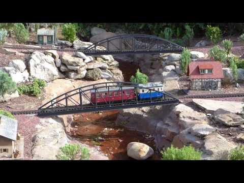 Walt Disney World - EPCOT - Germany Pavilion   Miniature Train and Village HD (2017)