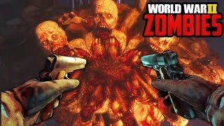 "WW2 ZOMBIES: BOSS FIGHT & SOLO EASTER EGG COMPLETED - ""THE FINAL REICH"""