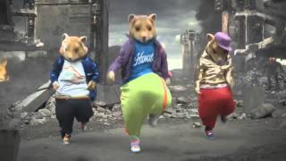 2011 MTV KIA Commercial Parody - Hamster Dance (Blue Man Group Techno Remix)