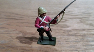 COLLECTABLE Britains Toy soldier Zulu Wars TOY SOLDIER REVIEW
