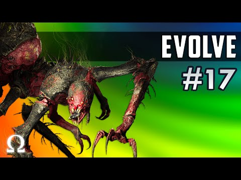CAUGHT IN MY WEB OF DESTRUCTION! | Evolve Stage 2 #17 Gorgon Monster Gameplay