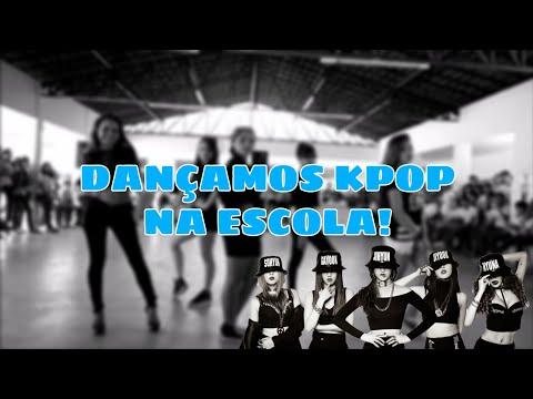 • SHOW DE TALENTOS: APRESENTAÇÃO DE DANÇA NA ESCOLA • 4MINUTE - 미쳐 (Crazy) Dance Cover thumbnail
