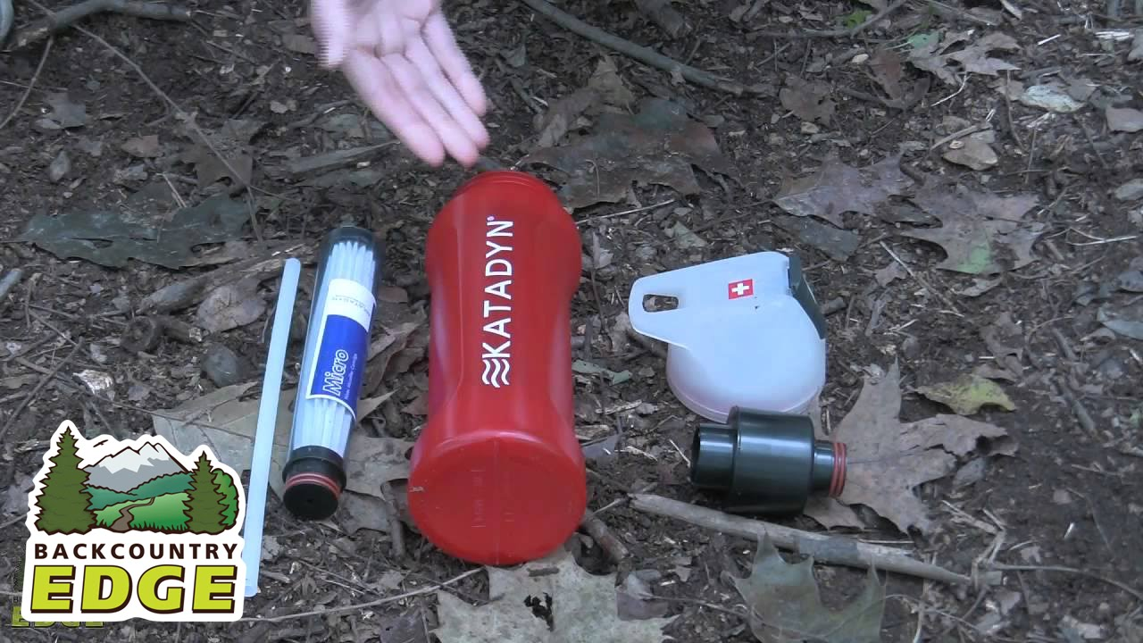 Katadyn Mybottle Microfilter Bottle Youtube My Boutle