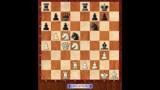 Знаменитые шахматные партии 3. Рети - Алехин. Одна из самых красивых комбинаций (субтитры). CC