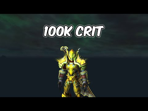 100K CRIT - Retribution Paladin PvP - WoW BFA 8.3