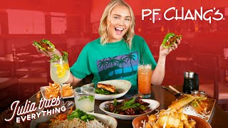 Trying ALL Of P.F. Chang's Most Popular Menu Items