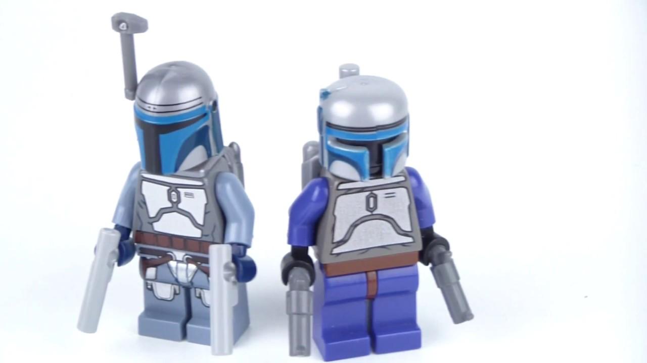 JANGO FETT BALACLAVA HEAD FIGURE 7153-2002 RARE NEW LEGO STAR WARS