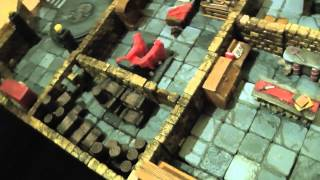 3D Miniature Dungeons for Roleplaying Dungeons & Dragons (AD&D or OSRIC)