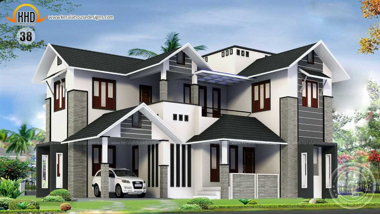 House design collection july 2013 youtube for Home plan collection