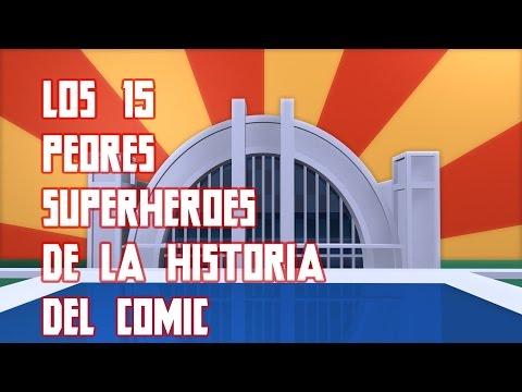 Los 15 Peores Superheroes de la Historia del Comic