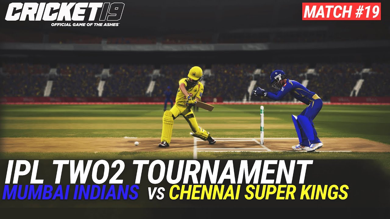 CRICKET 19 - IPL2020 TWO2 - MATCH #19 - MUMBAI INDIANS vs CHENNAI SUPER KINGS