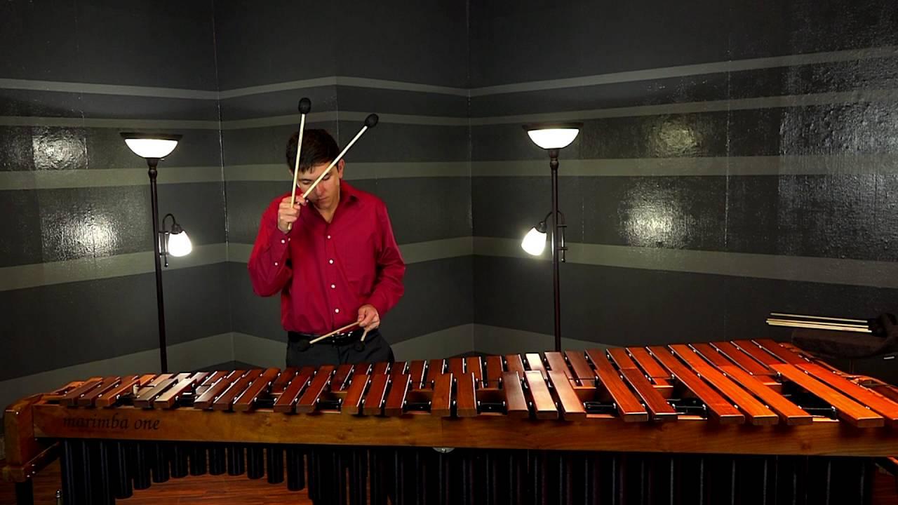 Marc Rivet PAS 2016 Marimba Solo Competition