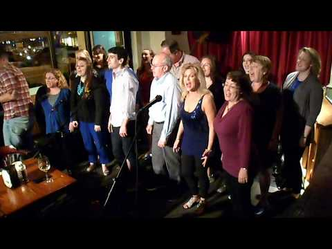 The Alexandria Singers sing