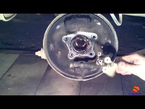 Установка задних дисковых тормозов TOYOTA CORONA ST 190 (CARINA E)