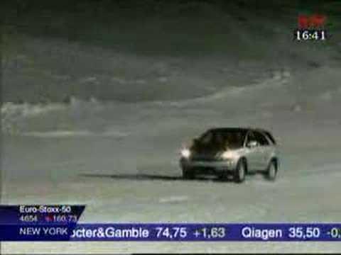 Vergleich Snow Climbing - BMW X5, Lexus RX300, Audi Allroad